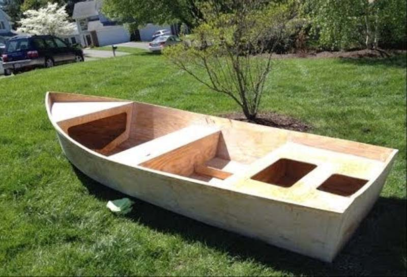 How to Build a Plywood Boat (2)