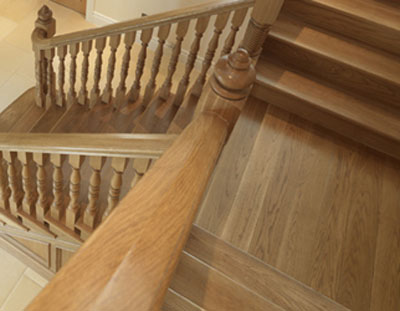 How to build DIY wooden stair (2)